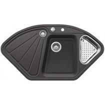 Кухонная мойка BLANCO - DELTA II-F темная скала (523671)