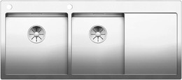 Кухонная мойка BLANCO - CLARON 8S-IF-А нержсталь зеркальная полировка (521652)