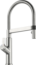 Кухонный смеситель BLANCO - Solenta-S Senso нержавеющая сталь HD 230 V (523127)