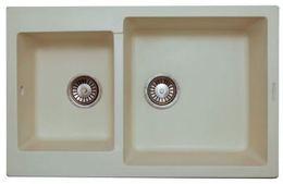 Кухонная мойка LAVA - D.3 CREMA кремовый