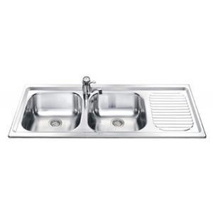 Кухонная мойка SMEG - LX116D-2