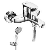 Смеситель для ванны и душа - LeMark - LM0214C Неро