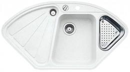 Кухонная мойка BLANCO - DELTA II-F белый (523673)