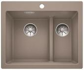 Кухонная мойка BLANCO - PLEON 6 Split серый беж (521696)
