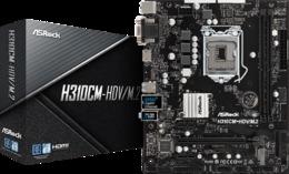 Материнская плата ASROCK - H310CM-HDV/M2