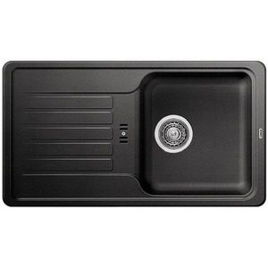 Гранитная кухонная мойка BLANCO - Favos Mini антрацит (518186) (в наличии) ID:NL012746