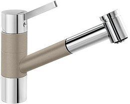 Кухонный смеситель BLANCO - Tivo - S серый беж/хром (517619)