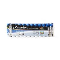 Батарейка CAMELION - R6P-SP24B, Super Heavy Duty, AA, 1.5V, 1220 mAh, 24 шт. в плёнке