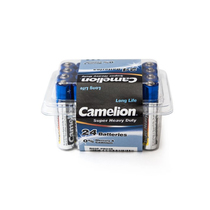 Батарейка CAMELION - R03P-SP24B, Super Heavy Duty, AAA, 1.5V, 550 mAh, 24 шт. в плёнке