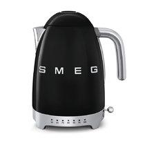 Чайник черный SMEG - KLF04BLEU (в наличии) ID:SM014167