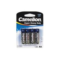 Батарейка CAMELION - R6P-BP4B, Super Heavy Duty, AA, 1.5V, 1050 mAh, 4 шт., Блистер