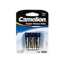 Батарейка CAMELION - R03P-BP4B, Super Heavy Duty, AAA, 1.5V, 550mAh, 4 шт. в блистере