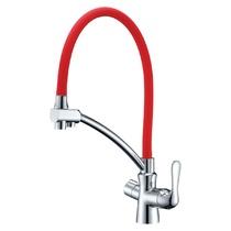 Кухонный смеситель - LeMark - LM3070C-Red Комфорт