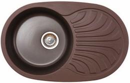 Кухонная мойка ORIVEL - VENERA PLUS коричневый