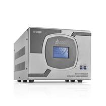 Стабилизатор напряжения SVC - Стабилизатор (AVR), SVC, R-12000(10000Вт), LCD-дисплей, Диапазон работы AVR: 110-275В, Клеммная колодка, Серый (ID:AL00491)