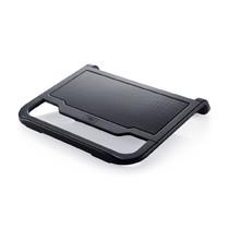 "Охлаждающая подставка для ноутбука Deepcool - Охлаждающая подставка для ноутбука, Deepcool, N200 DP-N11N-N200, 15.6"", Вентилятор 12см, 1000±10%RPM, Сквозной USB 2.0, 22,7дБл, Габариты 340.5х310,5х59мм, Чёрный (ID:AL02730)"