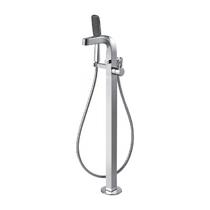Напольный смеситель для ванны - BRAVAT - F674108C-B WAVE