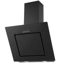 Вытяжка KRONA STELL - KIRSA 600 black/black glass