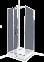 Душевое ограждение - Erlit - AB244-100