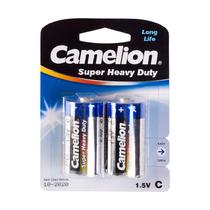 Батарейка CAMELION - R14P-BP2B, Super Heavy Duty, C, 1.5V, mAh, 2 шт. в блистере