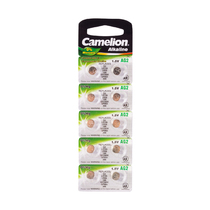 Батарейка CAMELION - AG2-BP10(0%Hg), Alkaline, AG2, 1.5V, 0% Ртути, 10 шт. в блистере
