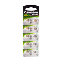 Батарейка CAMELION - AG4-BP10(0%Hg), Alkaline, AG4, 1.5V, 0% Ртути, 10 шт., Блистер