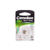 Батарейка CAMELION - SR54-BP1(0%Hg) , Silver Oxide, 1.55V, 0% Ртути, 1 шт., Блистер