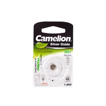 Батарейка CAMELION - SR57-BP1(0%Hg) , Silver Oxide, 1.55V, 0% Ртути, 1 шт., Блистер