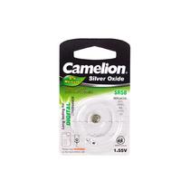 Батарейка CAMELION - SR58-BP1(0%Hg) , Silver Oxide, 1.55V, 0% Ртути, 1 шт., Блистер