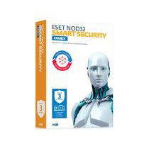Антивирус ESET - NOD32 Smart Security Family BOX 1 год на 3ПК или продление на 20 мec