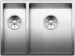Кухонная мойка BLANCO - CLARON 340-180-IF нержсталь зеркальная полировка (521608)