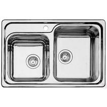 Кухонная мойка BLANCO - CASSIC 8 IF нержсталь с зеркальной полировкой (514641)