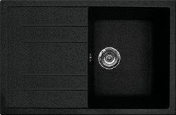 Кухонная мойка GRAN-STONE - GS 25 308 черный