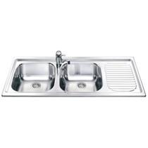 Кухонная мойка SMEG - LX116S-2