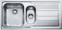 """Кухонная мойка FRANKE - LLX 651 3.5"""" лев короб вент (101.0085.810)"""