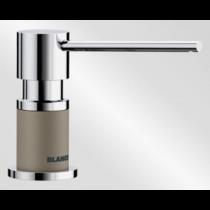 Дозатор BLANCO - 525816 Дозатор Lato хром/серый беж