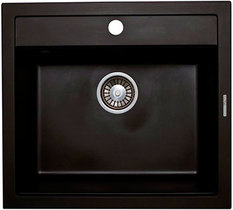 Кухонная мойка LAVA - Q.2 LAVA черный металлик