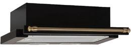 Вытяжка ELIKOR - Интегра 60Н 400 В2Л антрацит - рейлинг бронза (в наличии) ID:GS014219