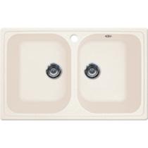Кухонная мойка GRAN-STONE - GS 15 331 белый