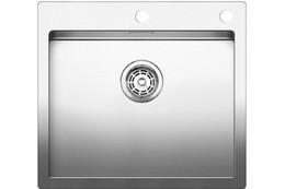 Кухонная мойка BLANCO - CLARON 500-IF нержсталь зеркальная полировка (521576)