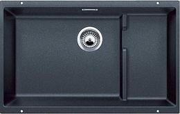 Кухонная мойка под столешницу BLANCO - Subline 700-U Level антрацит (523538) (в наличии) ID:NL04206