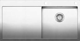 Кухонная мойка BLANCO - CLARON 5S-IF-А нержсталь зеркальная полировка (521625)