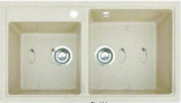 Кухонная мойка GRAN-STONE - GS 85K 241 молоко