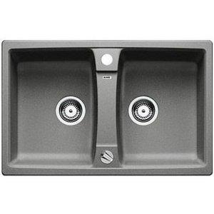 Гранитная кухонная мойка BLANCO - Lexa 8 алюметаллик (514693) (в наличии) ID:NL010695