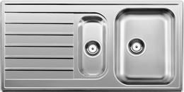 Кухонная мойка BLANCO - LIVIT 6 S нерж сталь декор (514797)