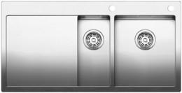 Кухонная мойка BLANCO - CLARON 6S-IF-А нержсталь зеркальная полировка (521645)