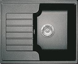 Кухонная мойка GRAN-STONE - GS 13S 308 черный