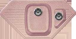 Кухонная мойка GRAN-STONE - GS 10К 315 розовый