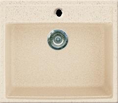 Кухонная мойка GRAN-STONE - GS 06 328 бежевый