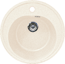 Кухонная мойка GRAN-STONE - GS 08 331 белый